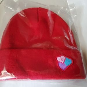 Jeffree star red heart valentine myster beanie hat